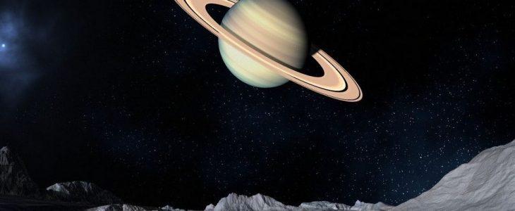 Zijn de ringen rond Saturnus even oud als de dinosaurussen